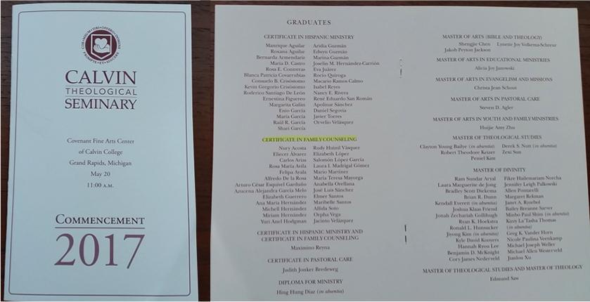 programa graduación